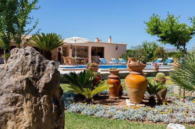 Villa Aina Francisca - tuin