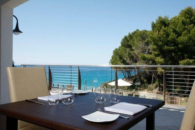 Appartement Bahia Camp - uitzicht restaurant