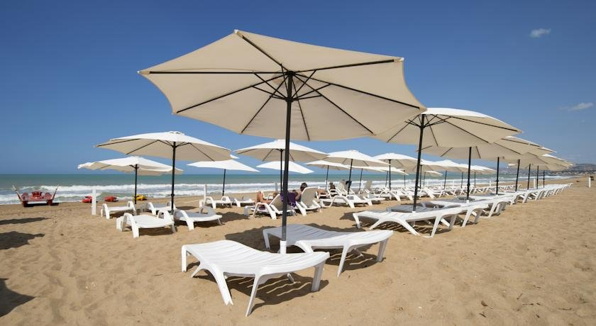 Hotel Baia di Ulisse - strand