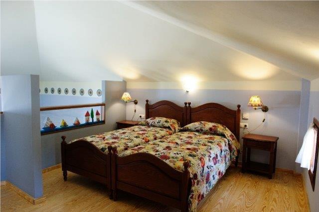 Villa Alisahni - slaapkamer in de loft
