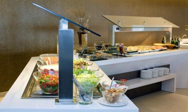 Appartementen La Pergola - buffet