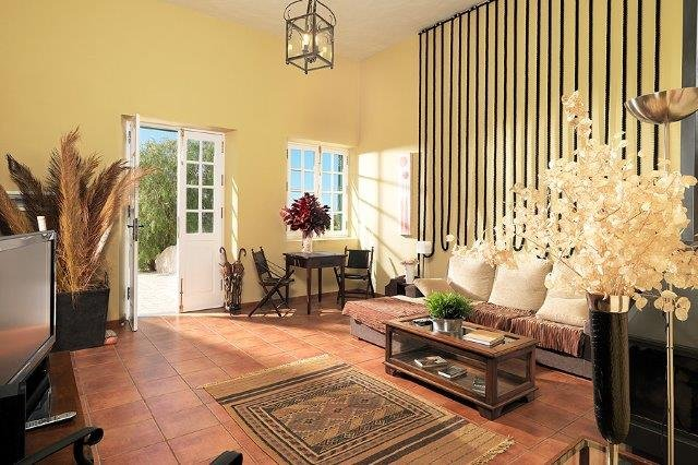 Villa La Malvasia - woonkamer