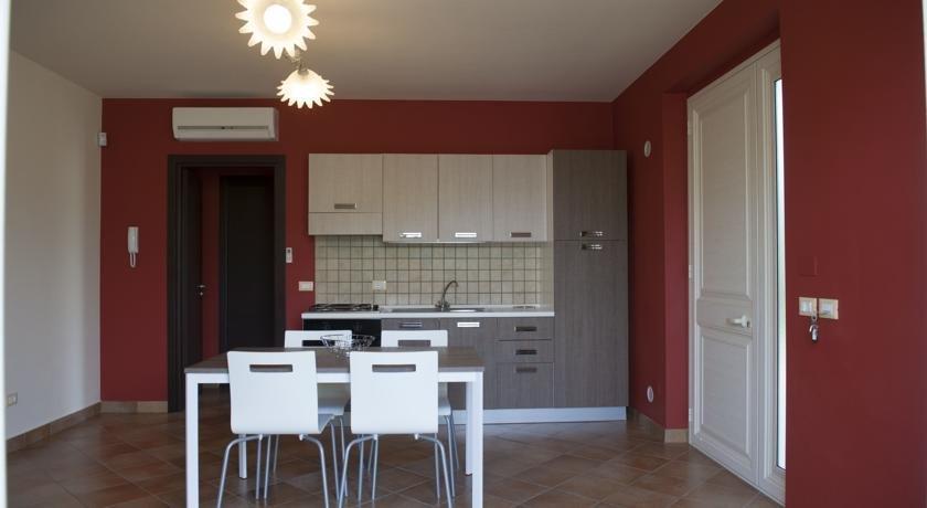 Appartementen Galati - keuken