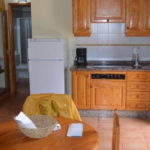 Casita Finca Pinero - keuken