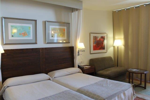 Hotel Parador de Tejeda - slaapkamer