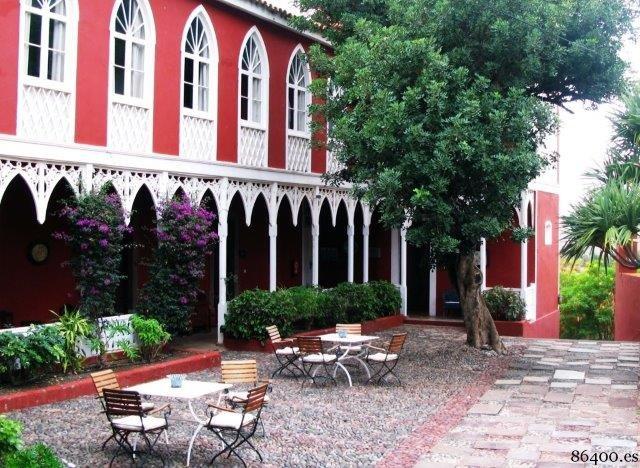 Hotel Longueras - terras
