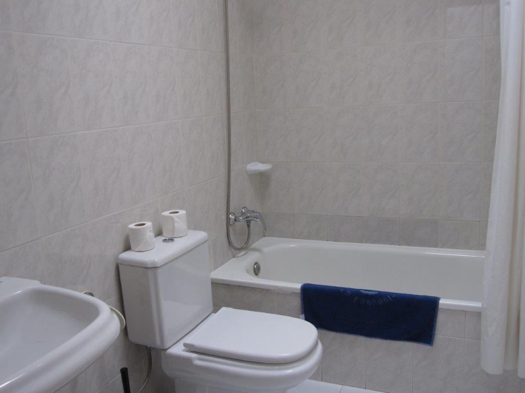 Appartementen La Laguneta - badkamer