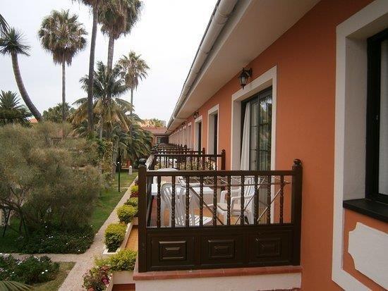 Appartementen Ambassador - balkon