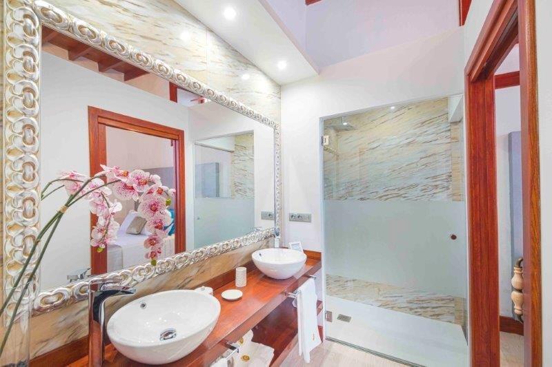 Hotel Villa Delmas - badkamer