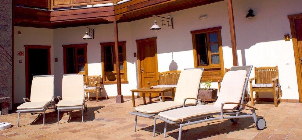 Hotel Fonda de la Tea - terras