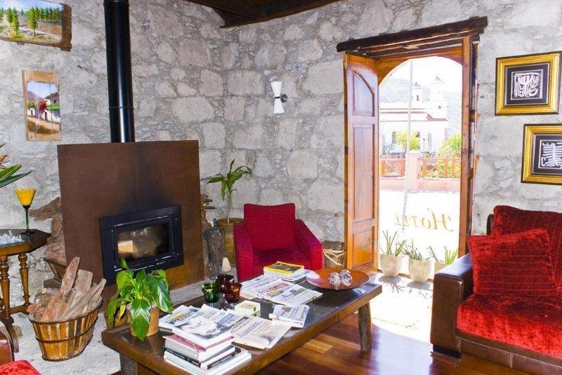 Hotel Fonda de la Tea - lounge