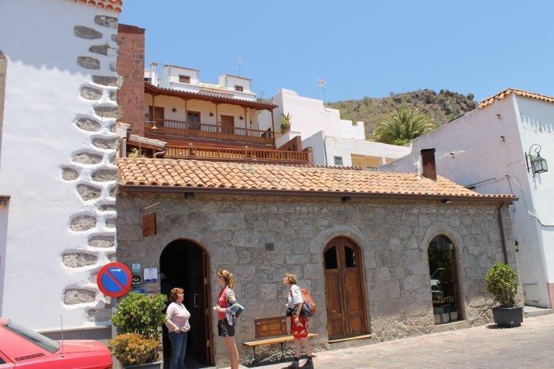 Hotel Fonda de la Tea - entree