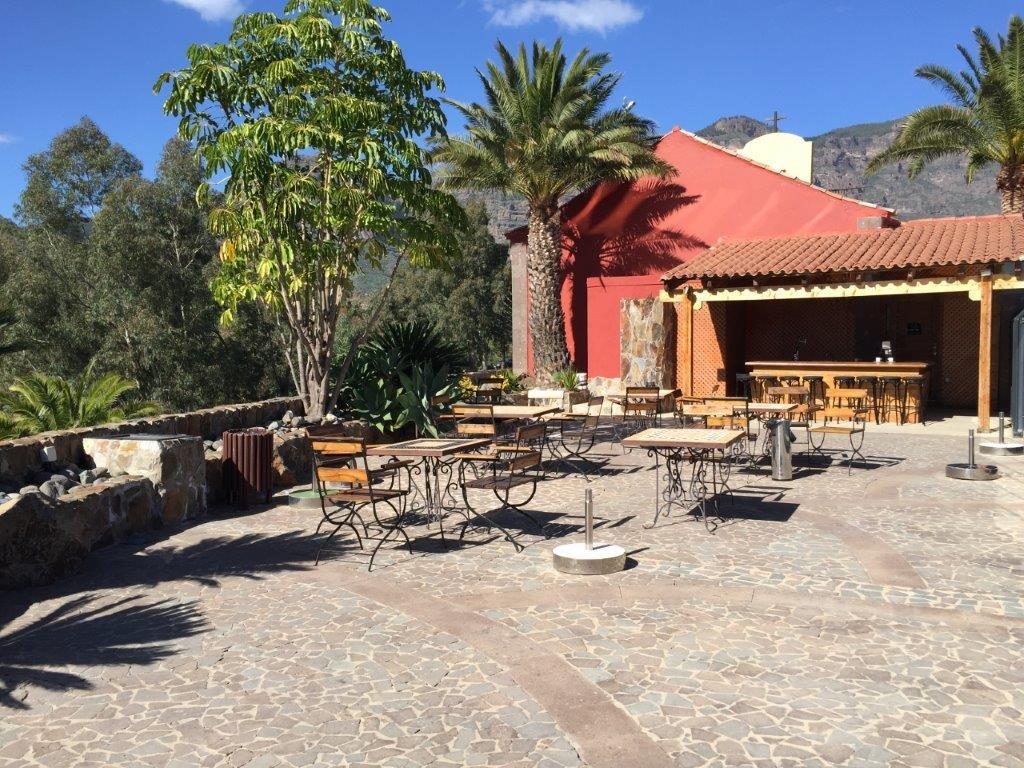 Hotel Las Tirajanas - terras