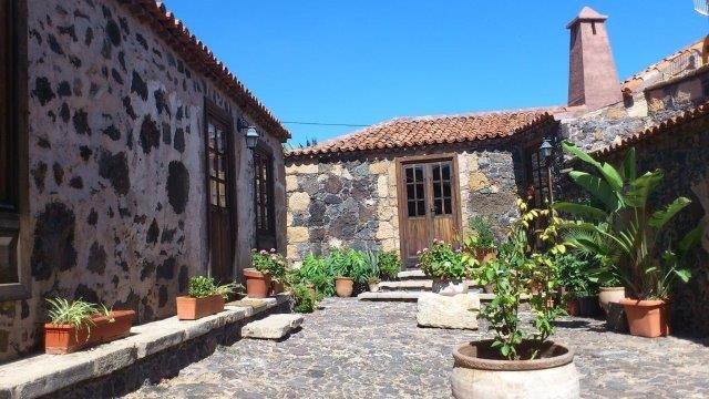 Casita Vera de la Hoya - binnenplaats