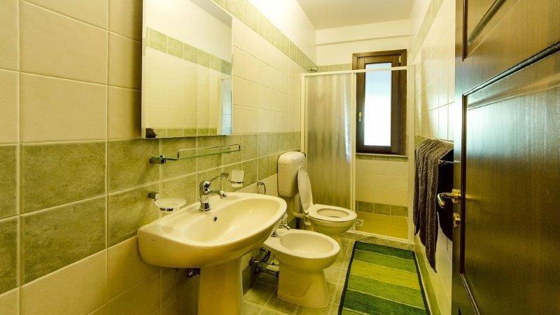 Appartementen Hydria - badkamer