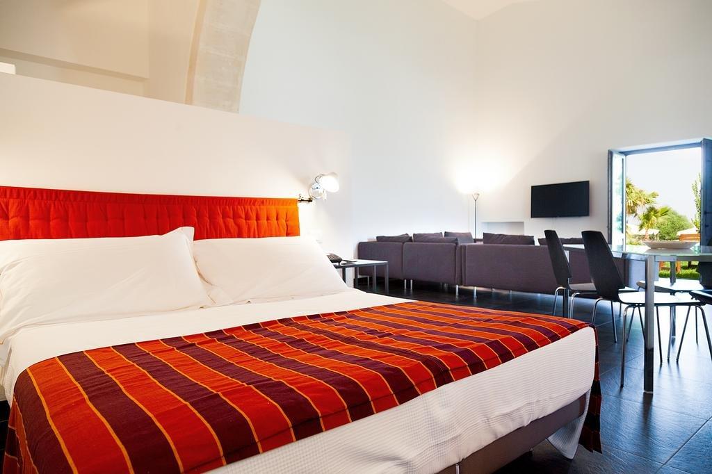 Appartementen Casal di Noto - slaapgedeelte