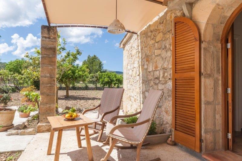 Villa Can Bisquerra - veranda
