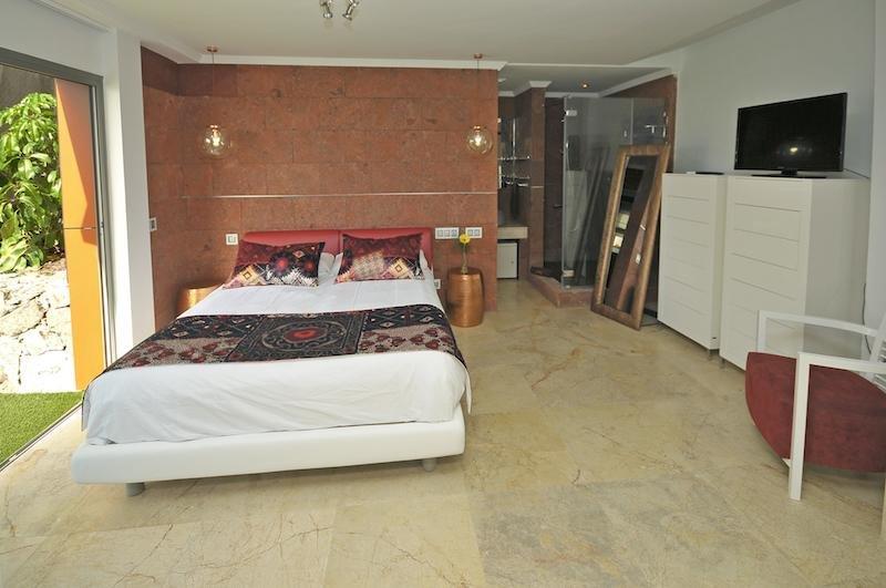 Appartementen Amadores - slaapkamer