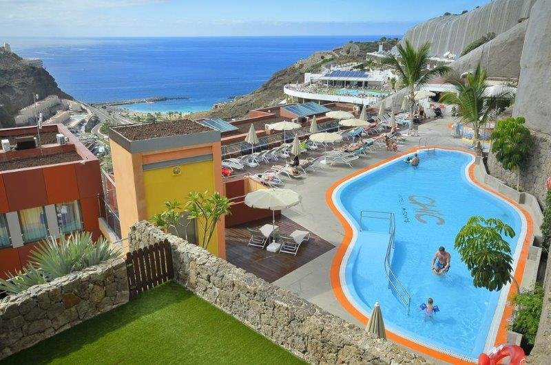 Appartementen Amadores - zwembad