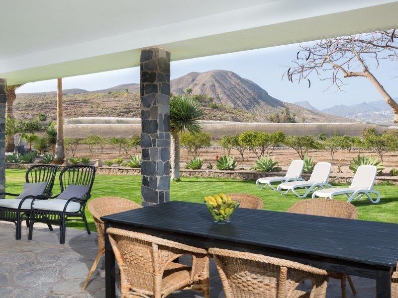 Villa Guaza Coronel - overdekt terras