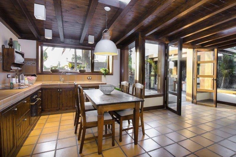 Villa Ermita Perdomo - keuken