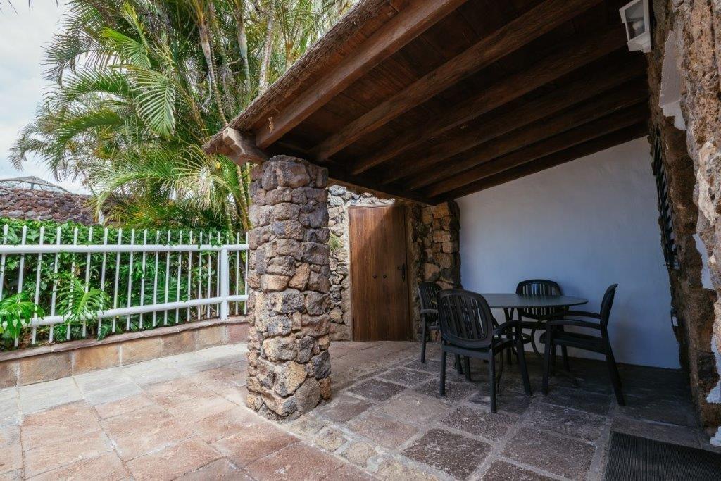 Villa Trece Piedras - overdekt terras
