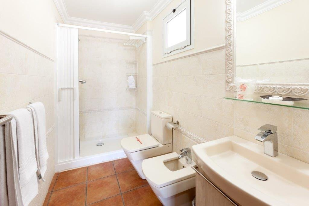 Appartementen Las Terrazas - badkamer