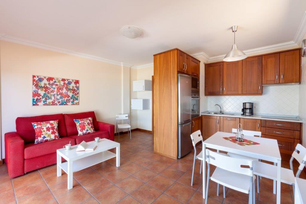 Appartementen Las Terrazas - woonkamer en keuken