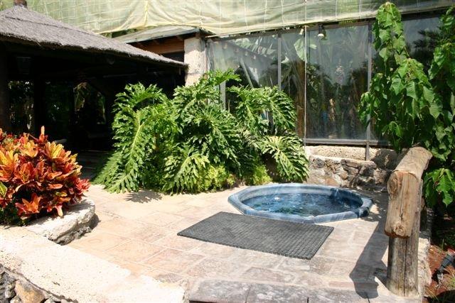 Villa Once Piedras - gezamenlijke jacuzzi