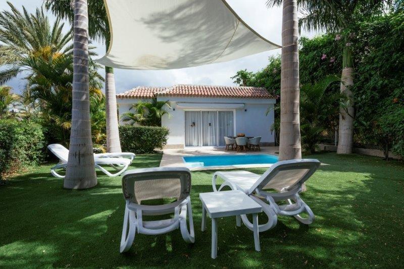 Villa Piedras de Aqua - tuin