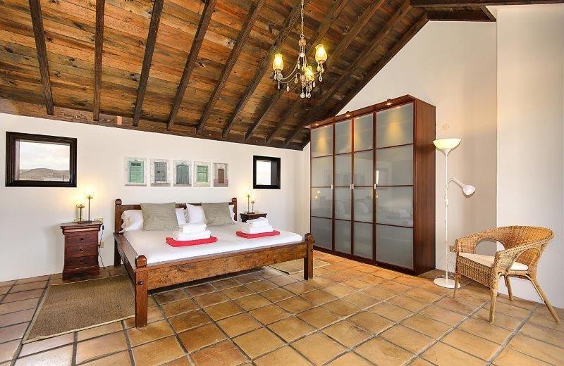 casa del volcan - slaapkamer