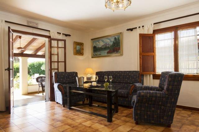 Villa Canaves - woonkamer