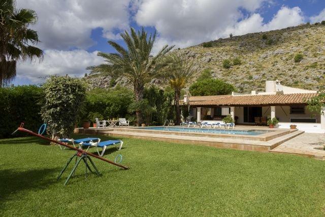 Villa Canaves - tuin