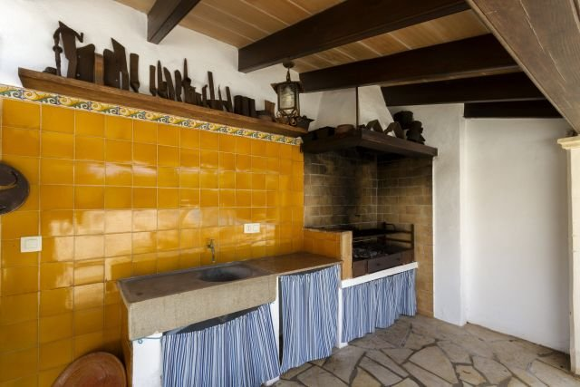 Villa Canaves - barbecue