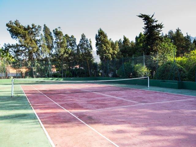Villa Excelsior - tennisbaan