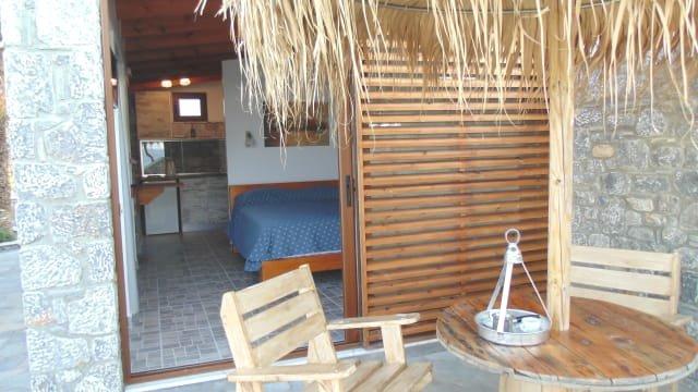 Appartementen Paraktio - terras studio