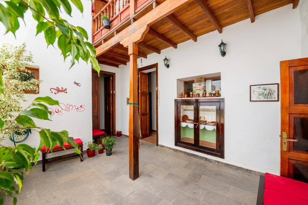 Hotel Aguimes - patio