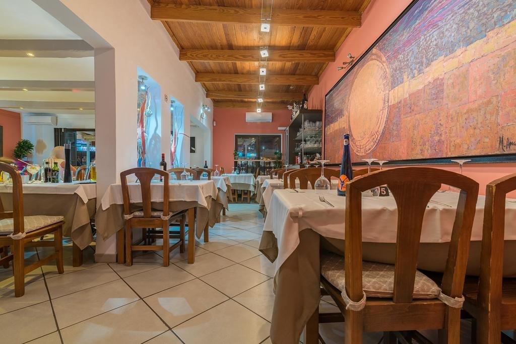 Appartementen Tropical - restaurant