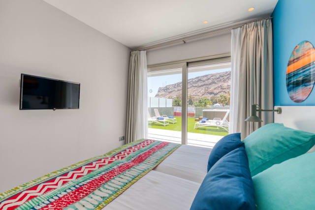 Appartementen Mogan Solaz - slaapkamer