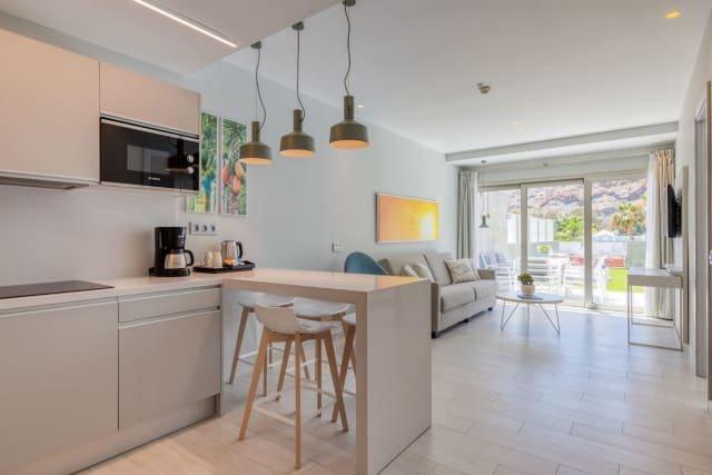Appartementen Mogan Solaz - keuken