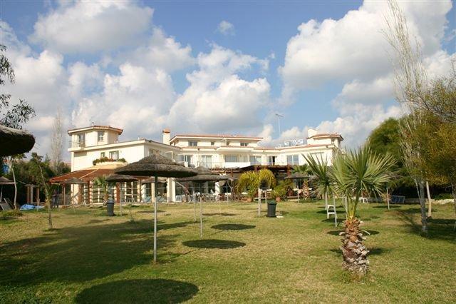 Hotel Andreas en Melani - tuin