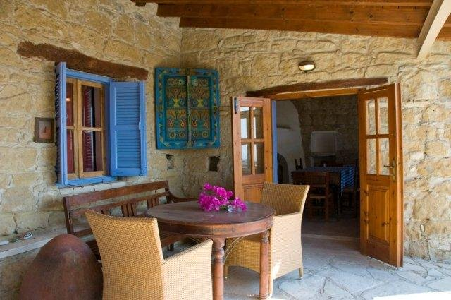 Village Houses - terras