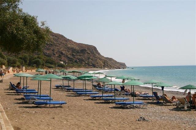 Appartementen Kotzias - strand