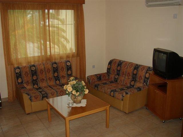 Appartementen Kotzias - woonkamer
