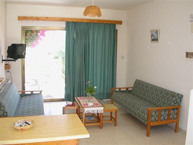 Appartementen Bougainvillea -  woonkamer