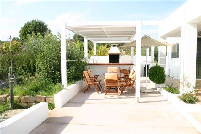 Villa Chevalier - terras