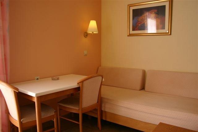 Appartementen Lindos Horizon - zitgedeelte