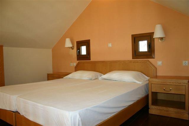 Appartementen Lindos Horizon - slaapkamer