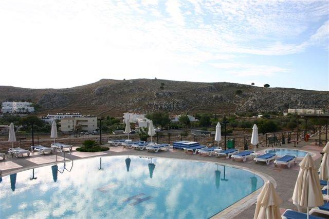 Appartementen Lindos Horizon - zwembad