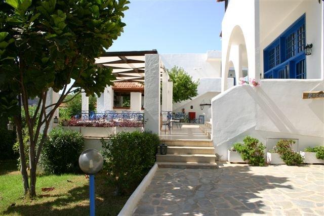 Hotel Lindos Sun - terras